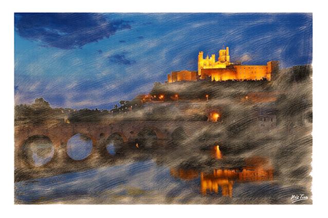 Béziers Cathédrale & Pont-vieux