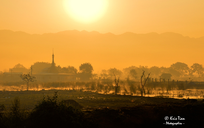 Birmanie Lever-du-jour