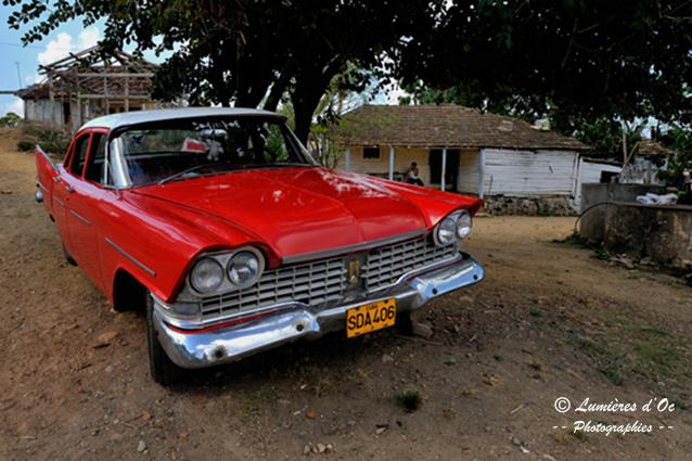Cuba Belle rouge