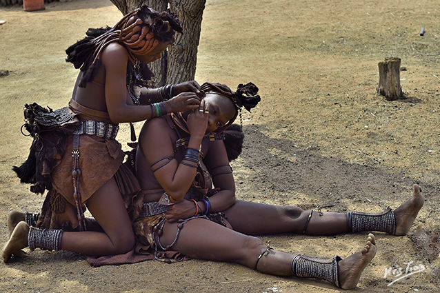 Femmes Himbas Namibie