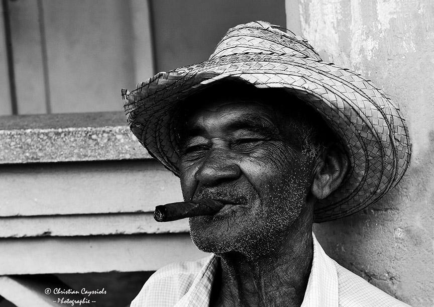 Cuba, Homme au Cigare