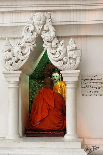 Prière Birmane