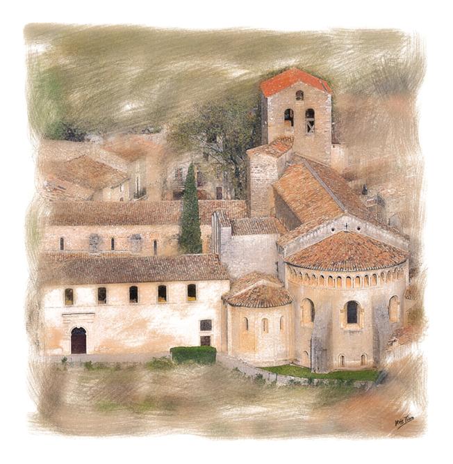 Saint Guilhem Abbaye