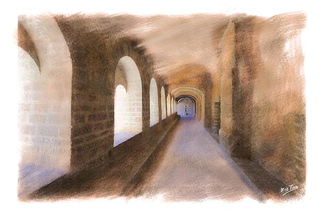 St Guilhem Abbaye le Cloitre
