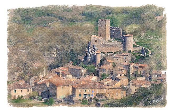 St Jean de Buèges village
