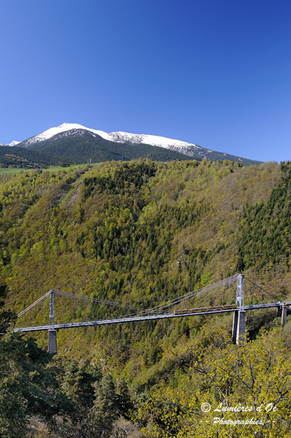 Petit train jaune & pont Gisclard (Pyrénées)