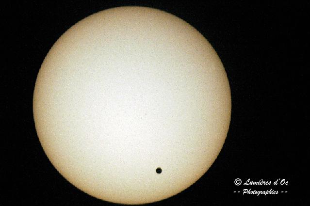 Venus devant Soleil