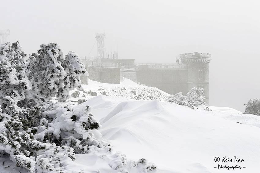 Aigoual en hiver