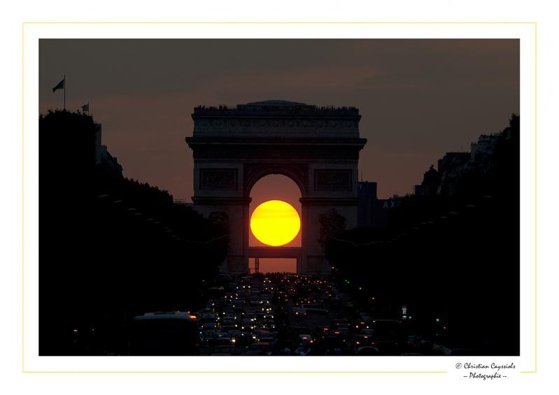 Arc soleil triomphe
