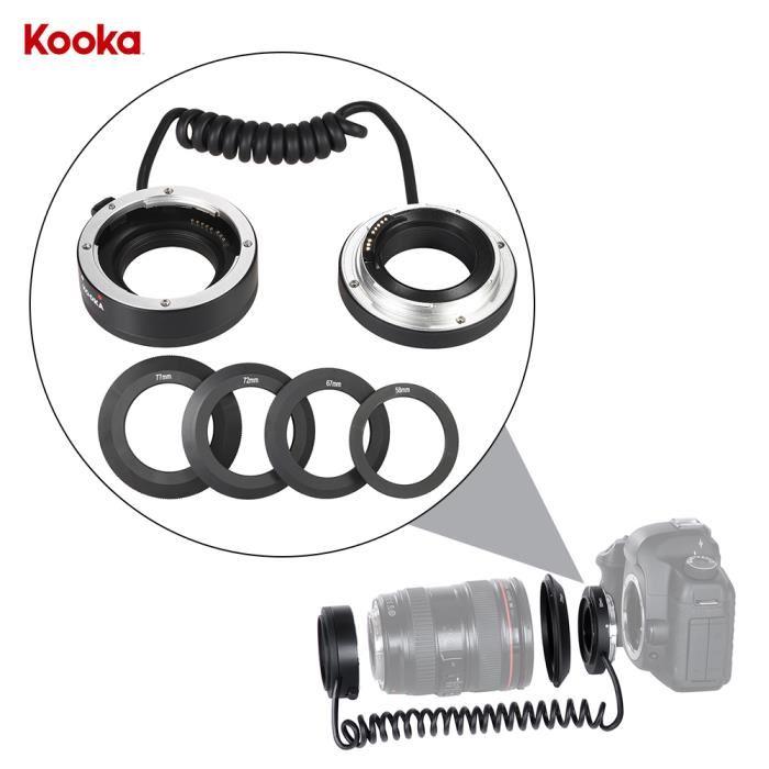 Kooka kk at5a inverse adaptateur bague tube auto f