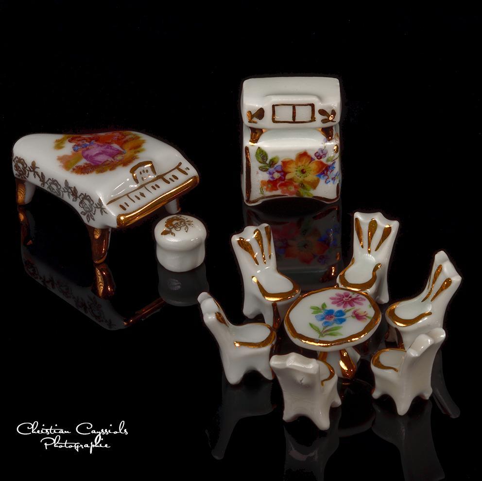 Miniatures en porcelaine