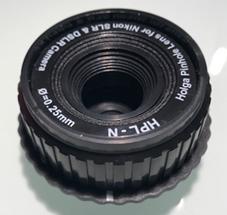 Sténopé en monture Nikon vue av